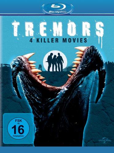 Tremors 1-4 [Blu-ray]