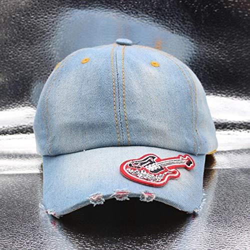 Baseballmütze Kappe Hut Cap Damen Baseballmütze Diamond Patch Denim Snapback Cowboyhüte Frauen Cowboyhut Sonnenhut