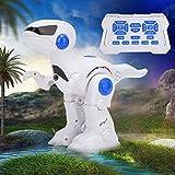 JULYKAI Modelo eléctrico de Dinosaurio Educativo temprano, Robot de Dinosaurio, Juguete electrónico para niños pequeños niños niños