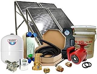 Northern Lights Group Solar Hot Water Retrofit Kit - 4 Flat Plat Collectors