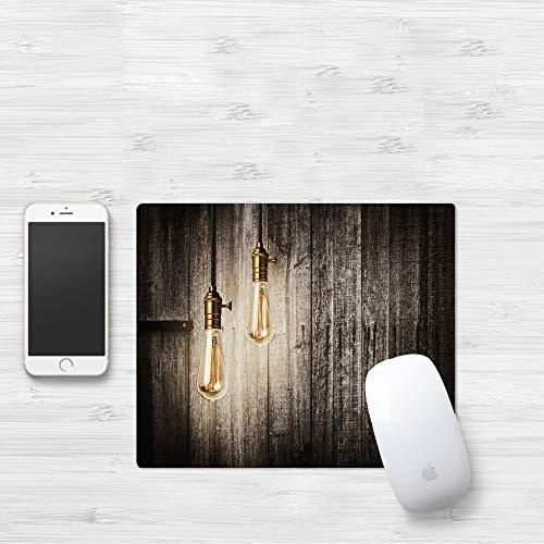 Comfortable Mouse Pad 320x250 mm,Industrial, Innovación histórica Edison Revival Electri,Gaming Matte superficie lisa para ratón de goma antideslizantes con Designs para gamer y Office trabajo32x25 cm