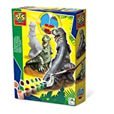 SES - 01283 - Kit De Loisirs Créatifs - Moulage en Plâtre - T-Rex