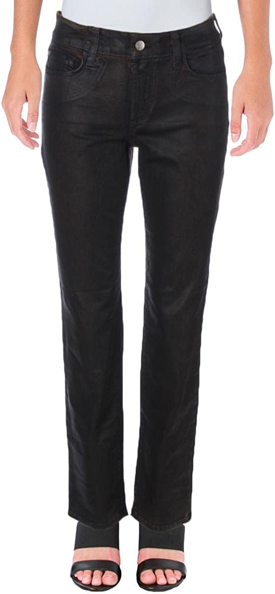 NYDJ Women's Petite Size Sheri Slim Coated Jeans