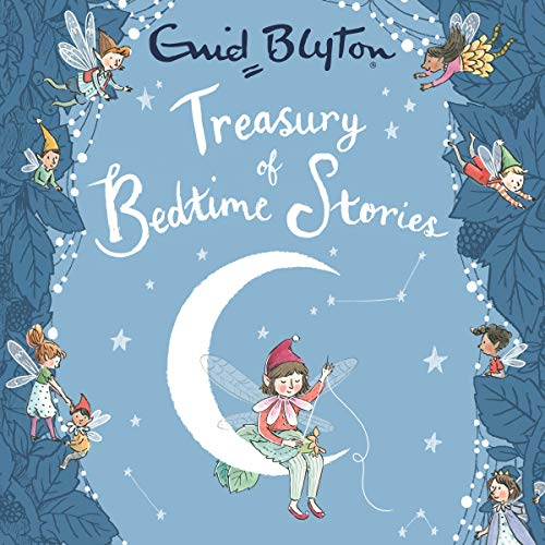 Treasury of Bedtime Stories audiobook cover art