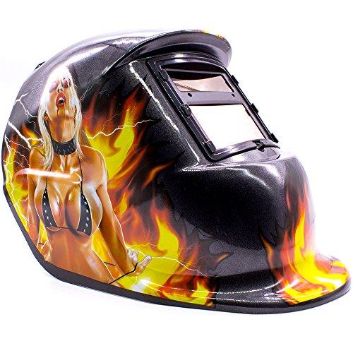 Máscara de Solda Escurecimento Automático Personalizada GT281-C Garota - Lorben
