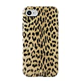 Puro Glam Cover Leopard iPhone 6/6S/7/8 Black