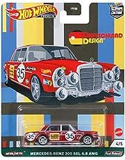 ホットウィール(Hot Wheels) カーカルチャー ドイチュラント デザイン - メルセデス・ベンツ 300 SEL 6.8 AMG GRJ73 赤