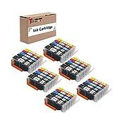 Tonersave Tintenpatrone kompatible zu PGI-550XL...