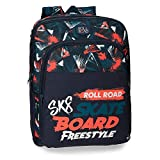 Roll Road Freestyle Sac à dos double compartiment adaptable au charriot Multicolore 33x42x17 cms Polyester 23.56L
