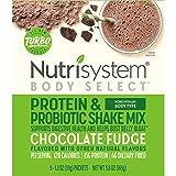 Nutrisystem Turbo Shake Probiotics, Chocolate Shake Mix, 5 Little Packets (Pack of 2)