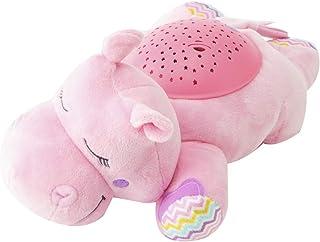 Summer Infant サマーインファント ミニ プラネタリウム Slumber Buddies スランバー バディーズ (種類:Dozzing Hippo Pink) [並行輸入品]