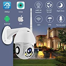 Surveillance Recorder WiFi Camera Outdoor Ptz IP Camera 1080P Speed Dome CCTV Security Cameras WiFi Exterior 2Mp Ir Home S...