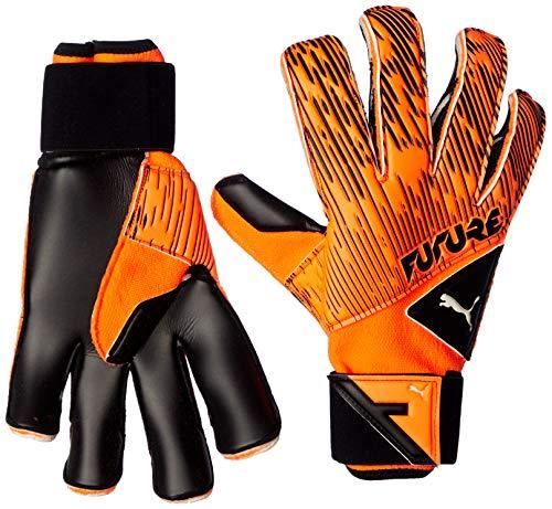 PUMA Future Grip 5.2 SGC - Guanti da portiere Shocking Orange Black White, 10,5