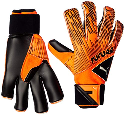 PUMA Future Grip 5.2 SGC Torwarthandschuhe, Shocking Orange Black White, 7
