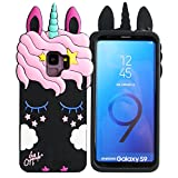 Galaxy S9 5.8' Case,Phenix-Color 3D Cute Cartoon Soft Silicone Chill Pills Hello Kitty Love Bear Gel Back Cover Case for Samsung Galaxy S9 5.8' (#44)