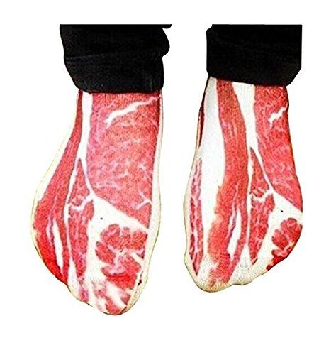 Jeu GeHL Socken des Schweinefleisch-3D, lustige Speck-Socken-Sport-zufällige Knöchel-Socken-Paar-Baumwollsocken