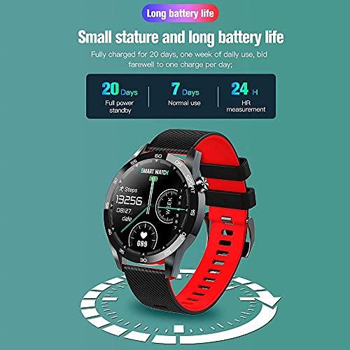 Reloj inteligente de 1,54 pulgadas con pantalla táctil completa para hombres y mujeres IP67 impermeable podómetro Fitness Tracker reloj con monitor de sueño-verde