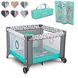 LIONELO Fie 3 in 1 Box bambini pieghevole box neonati lettino da viaggio dalla nascita fino a 15 kg...