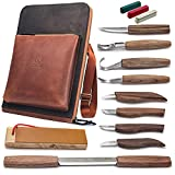 BeaverCraft Deluxe Wood Carving Kit S50X - Wood Carving...