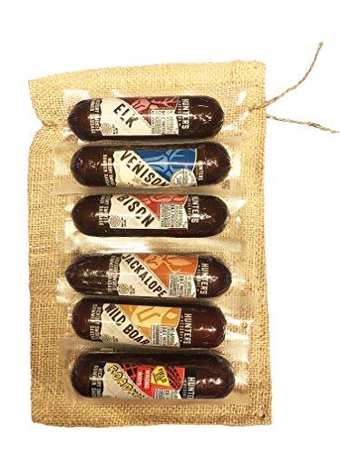Exotic Summer Sausage 6 Pack Gift Bag