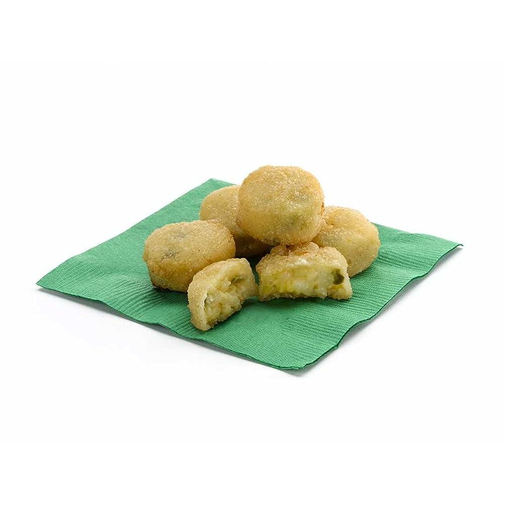 Golden Crisp Breaded Jalapeno Cheddar Potato Bites, 3 Pound -- 4 per case.