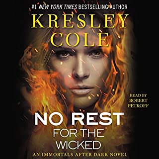 Page de couverture de No Rest for the Wicked: Immortals After Dark, Book 3