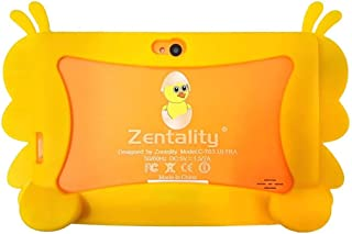Zentality Kids Tablet 7 Inch, 8 GB Memory, 1 GB RAM, WiFi, Andorid 5.1, Orange - C-307 Ultra