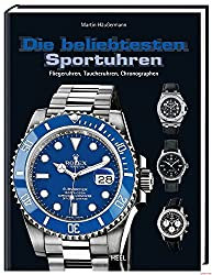 The most popular sports watches: aviator watches, diving watches, chronographs