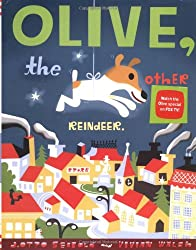 children's Christmas book Olive the other reindeer