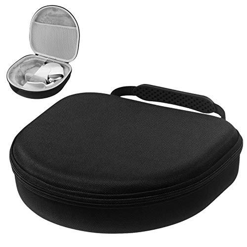 NEWZEROL Reisetasche Kompatibel für Airpods Max, Aufbewahrungstasche Airpods Max Kopfhörer Fashion Nylon Box, Reisetasche Schutzhülle Aufbewahrungstasche - Schwarz