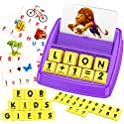 Boztx Matching Letter Fun Flash Cards Spelling Games Learning Toy
