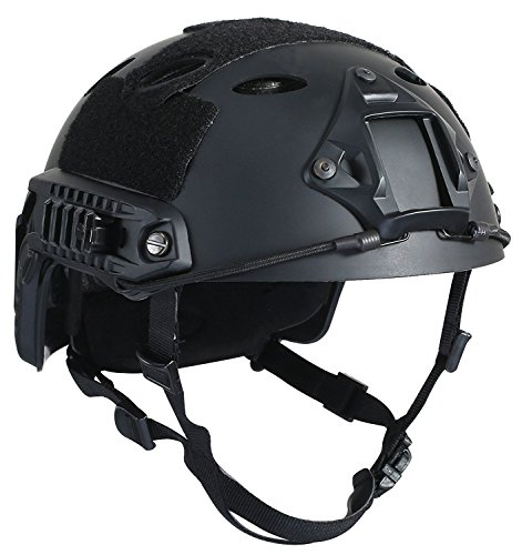 DLP Tactical Impax Extreme Fast Bump Helmet with Accessory Mounts
