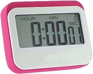 Digital Kitchen Timer, Big Digits, Loud Alarm, Magnetic Backing,Stand (red)