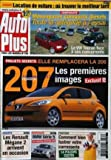 AUTO PLUS [No 760] du 01/04/2003 - COMPARATIF : MONOSPACES COMPACTS DIESELS, TOUTE LA...