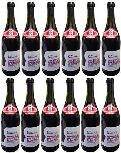 Rotwein Italien Lambrusco Grasparossa di Castelvetro DOC lieblich (12x0,75L)