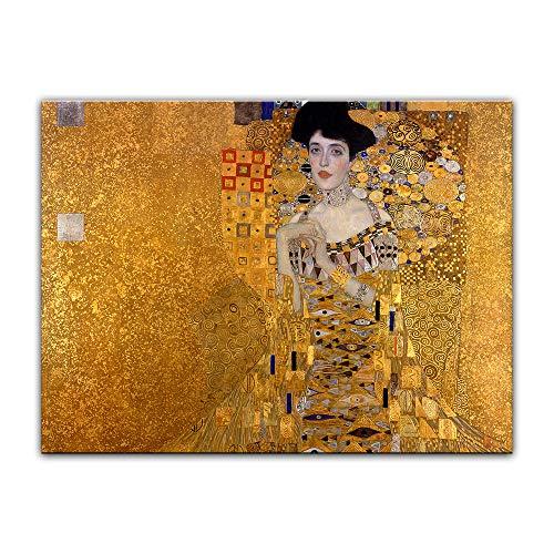 Kunstdruck Poster - Gustav Klimt Adele Bloch - Bauer I 40x30cm ca. A3 - Alte Meister Bild ohne...