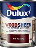 Quick Drying Interior/Exterior Woodsheen RICH MAHOGANY 750ML