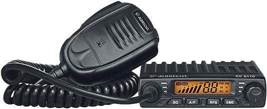 Albrecht 6110 Multistandard AM/FM, 12612, CB-Funkgerät für Europa im Slim-Line Format..