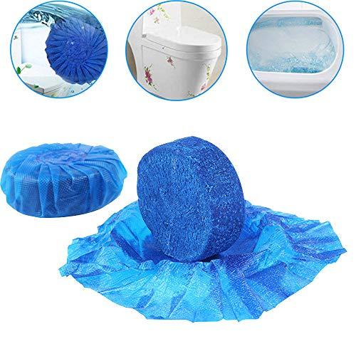 MMLC WC Wasserkasten Tabletten Tabs Toilettenreiniger Aktiv Steine Blauspüler (Blue)