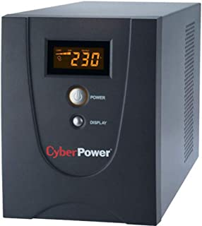 CyberPower VALUE1200ELCD 1200VA/ 720W Line Interactive UPS with LCD Display (Tower) UPS , 4 AC Power plug , USB & Serial P...