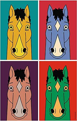 BoJack Horseman - Poster animato da adulto, serie Black Comedy-Drama Will Arnett Diane Nguyen, principessa Carolyn, 30,5 x 45,7 cm