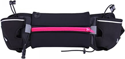 Rose rouge WINOMO sac de taille courroie de course Ceinture dhydratation extérieur adapté à liPhone 7 Plus pour la marche fitness vélo marche hommes et femmes Running
