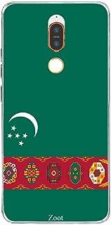 Nokia X6(2018) Turkmenistan Flag, Zoot Designer Phone Covers
