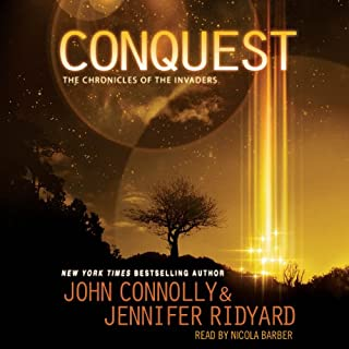 Conquest audiobook cover art