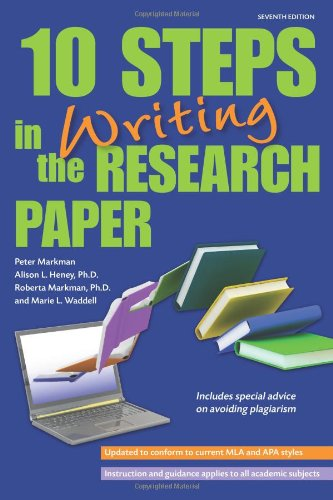 10 Steps in Writing the Research Paper (Barron's 10 Steps...