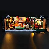 LIGHTAILING Conjunto de Luces (Ideas Friends Central Perk) Modelo de Construcción de Bloques - Kit de luz LED Compatible con Lego 21319 (NO Incluido en el Modelo)