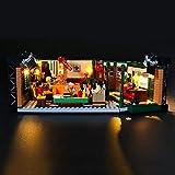 LIGHTAILING Conjunto de Luces (Ideas Friends Central Perk) Modelo de Construcción de Bloques - Kit de luz LED Compatible con Lego 21319 (NO Incluido en el Modelo)