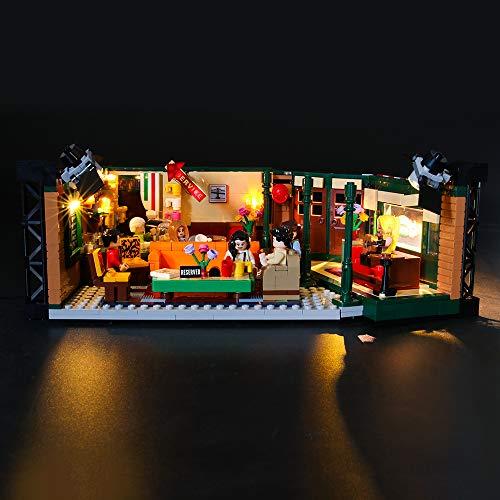 lego friends serie tv LIGHTAILING Set di Luci per (Ideas Friends Central Perk) Modello da Costruire - Kit Luce LED Compatibile con Lego 21319 (Non Incluso nel Modello)