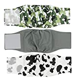 Cilkus Washable Male Dog Diapers - 2019 Male Dog Belly Wrap, Soft and Comfortable, with Adjustable Velcro...