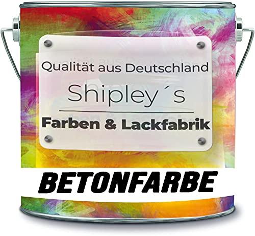 Shipley's Farben & Lackfabrik Pintura de hormigón para garaje, revestimiento de suelo para interiores, suelo industrial, para sótano, resina epoxi (5 kg, amarillo narciso Ral 1007)